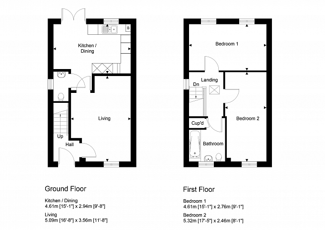 Plot 42, 49 & 50. For illustration purposes only. Subject to change.